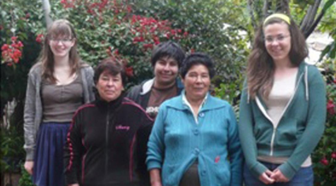 Iona H in Peru